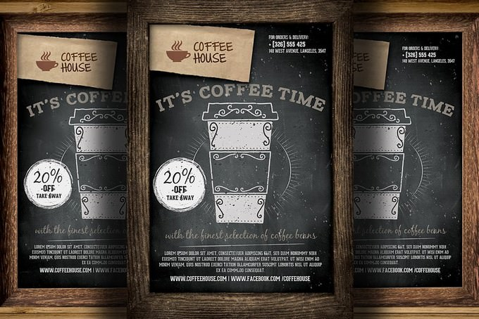 Coffee Shop Promotion Flyer