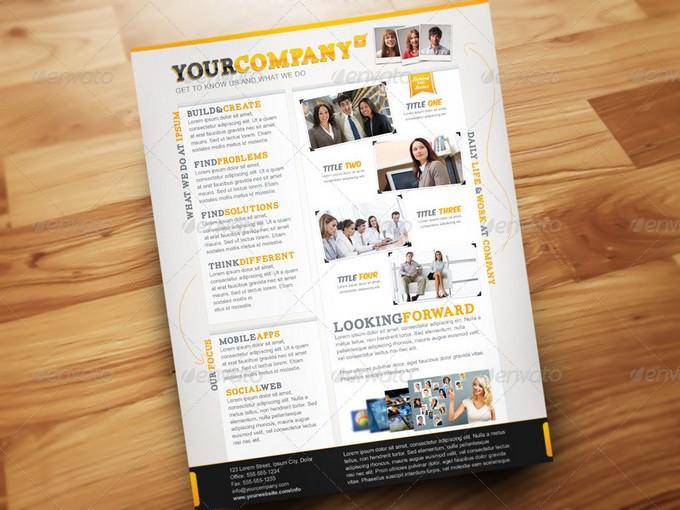 Company Info Flyer