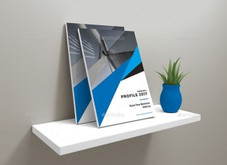 Company Profile Flyer Template