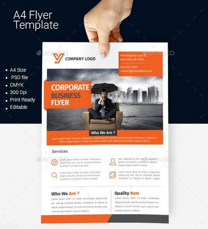 Corporate Company Flyer Template