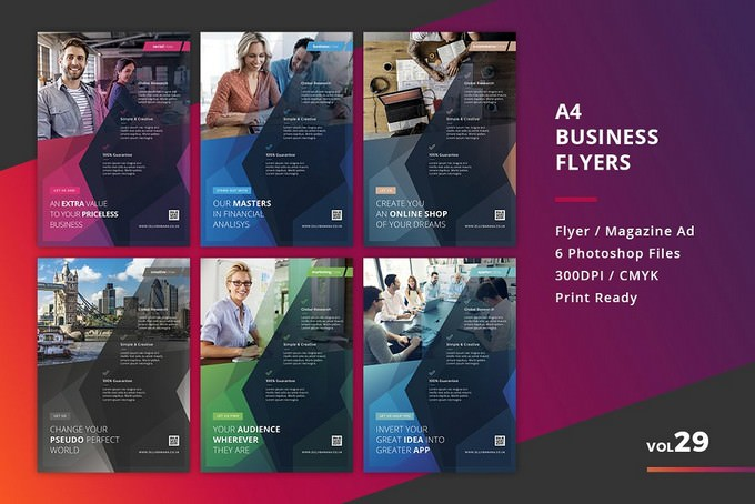 6 Corporate Flyer Templates