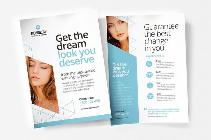 Cosmetic Poster Flyer Template