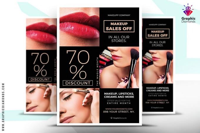 Cosmetics Sales Flyer