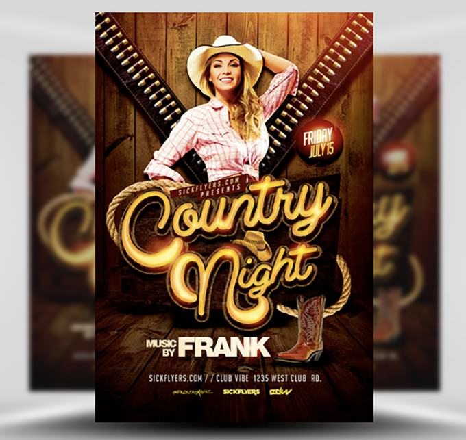 Country Night Western Flyer