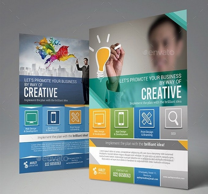 Creative Business Design Agency Flyer