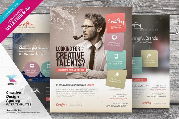 Creative Design Agency Flyer
