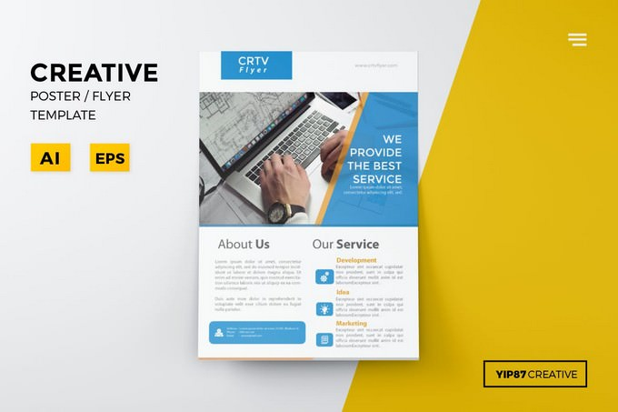 Creative Promotion Flyer Template