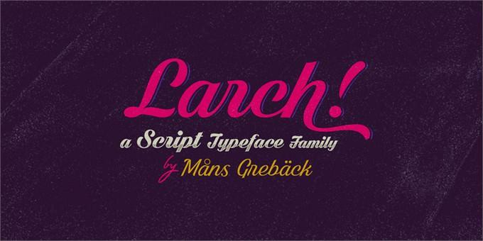 Dark Larch Font