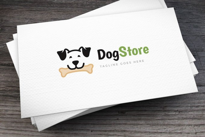 Dog Store Logo