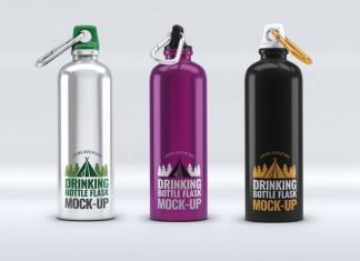 Drinking Bottle Mock-Up
