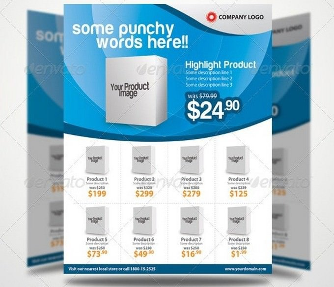Elegant Promotion Flyer Template