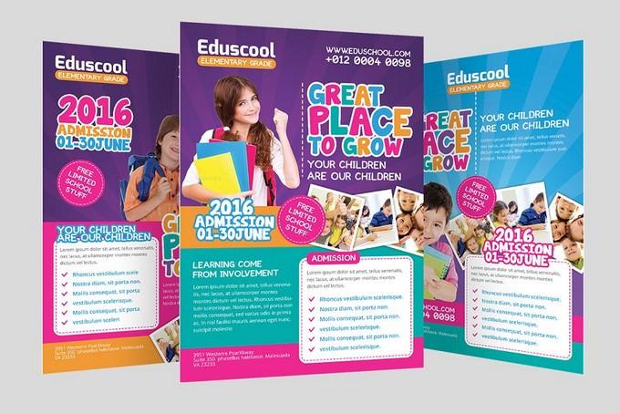 School Promotion Flyer