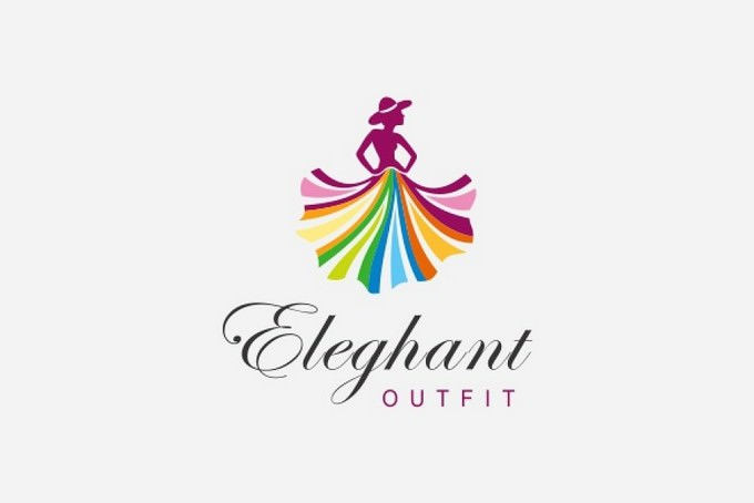 Fashion Outfit Logo Template