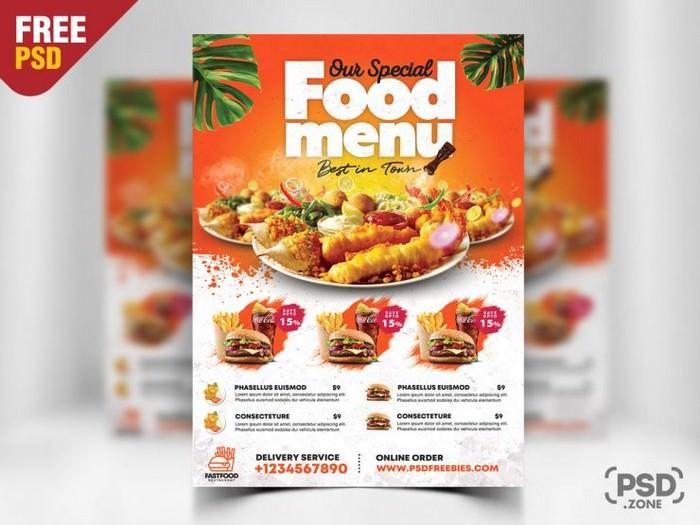 Fast Food Restaurant Flyer