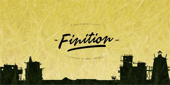 Finition Font Font