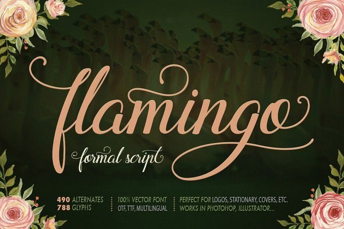 Flamingo Formal Script