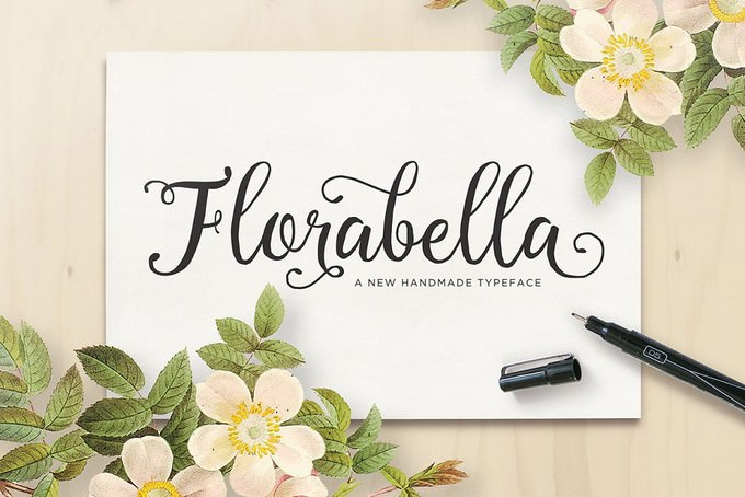 Florabella Script Font