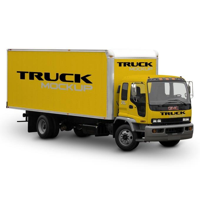 Mock-Up Truck Cargo