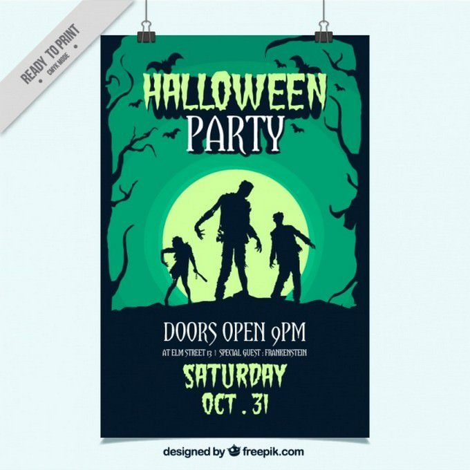 Hand Drawn Party Flyer