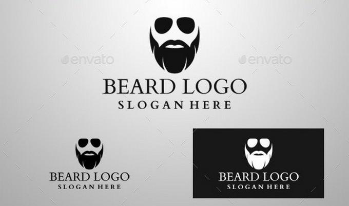 High Resolution Beard Logo
