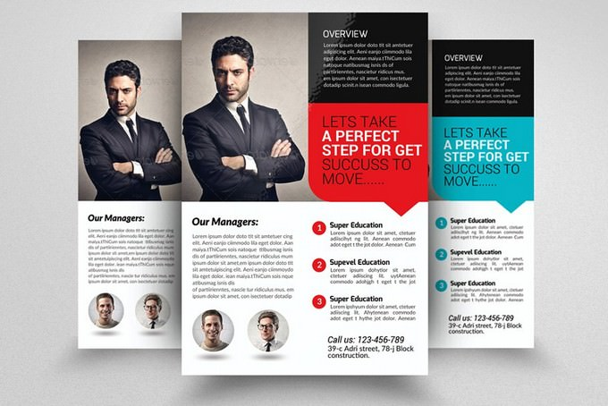 Insurance Company Business Flyer