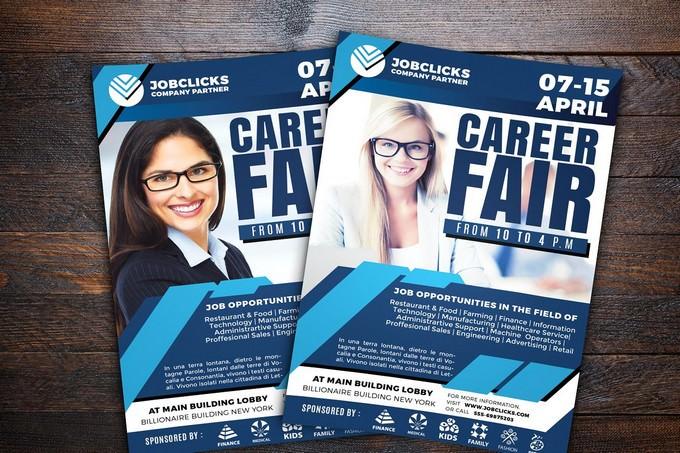 Job Career Company Flyer Template