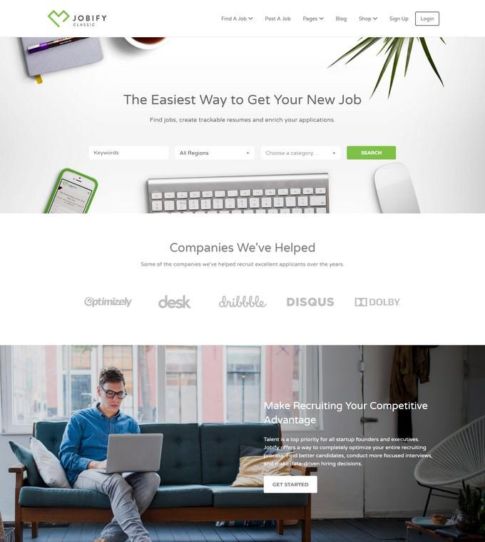 The Most Popular WordPress Job Board Theme