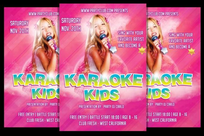 Karaoke kids Talent