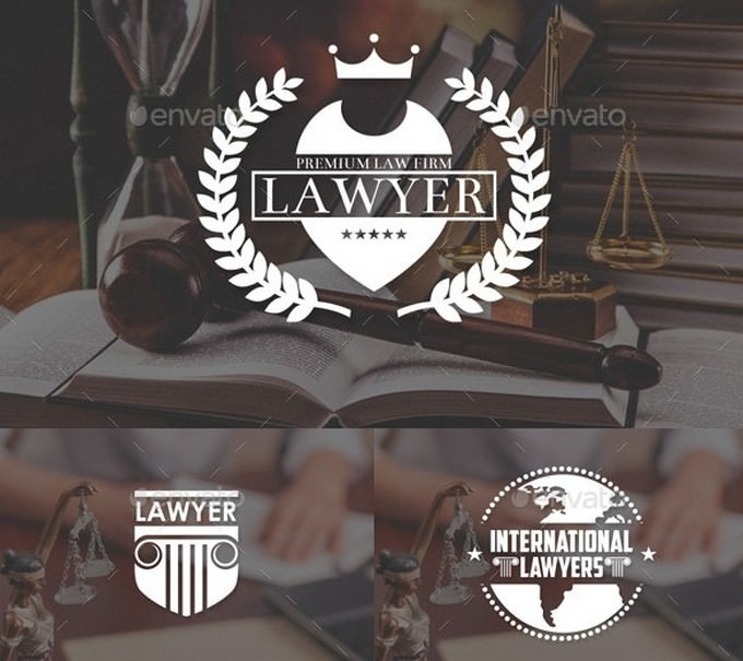 Law Lawyer Logo