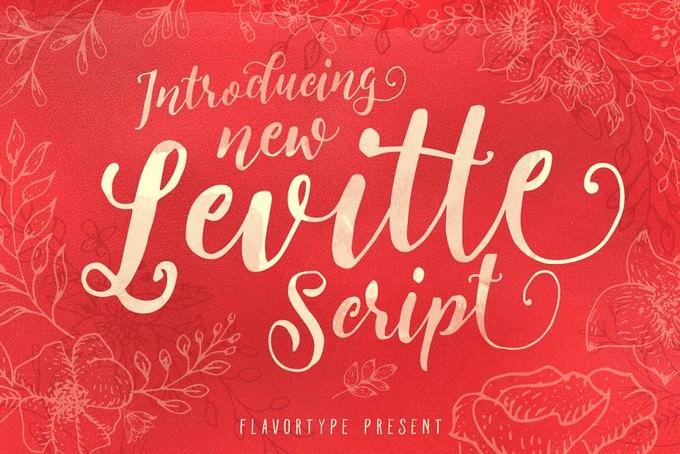 Levitte Script Font
