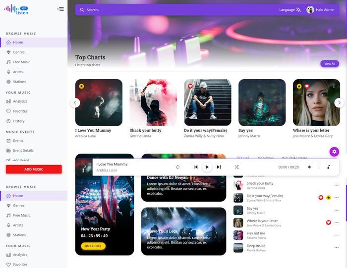 Listen - Online Music