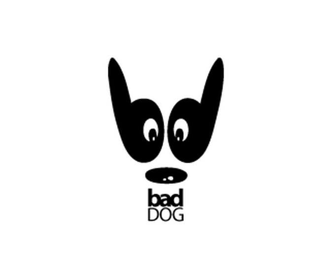 Logo Design Bad Dog