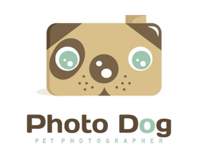 Logo Design Dog Photographer
