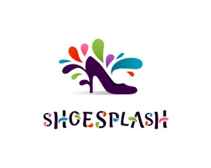 Logo Design Shoe Splash