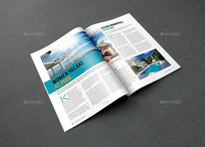 Magazine Booklet Mock-Up