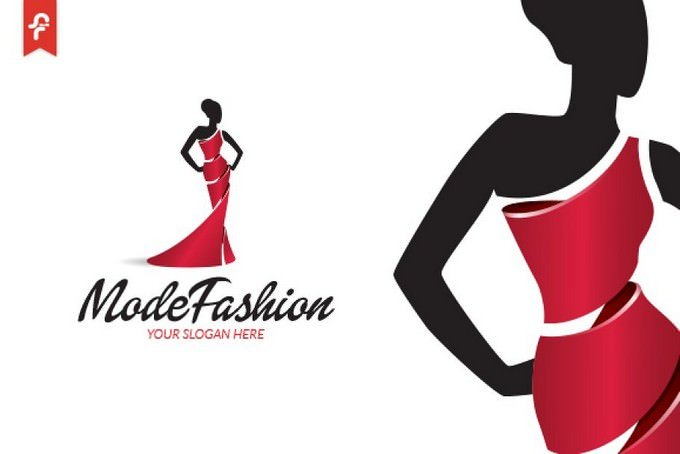 Mode Fashion Logo Template