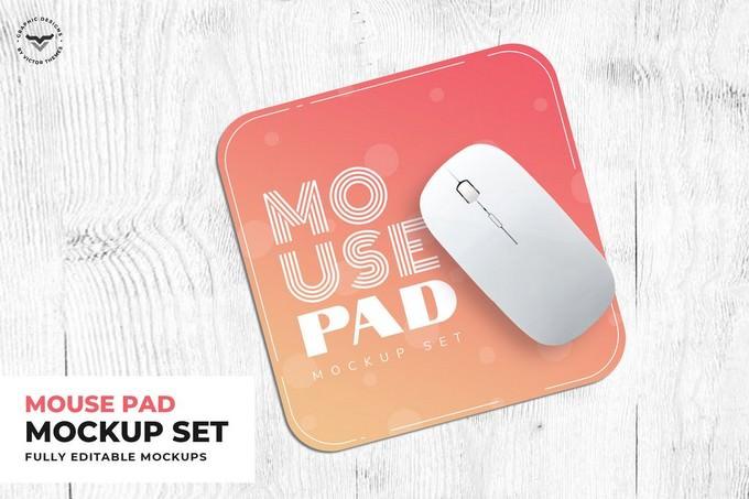 Mouse Pad Mockup PSD