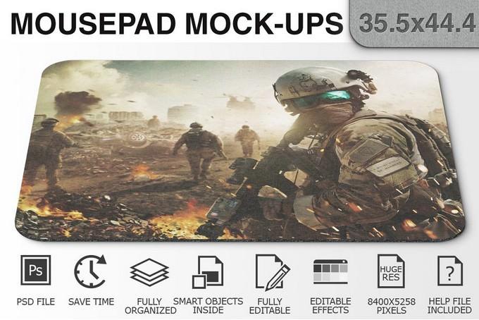 Mousepad Mockup Photoshop