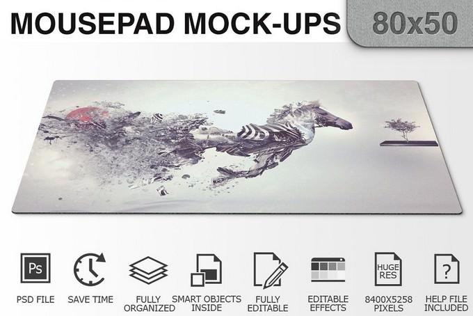 Mousepad Mockups