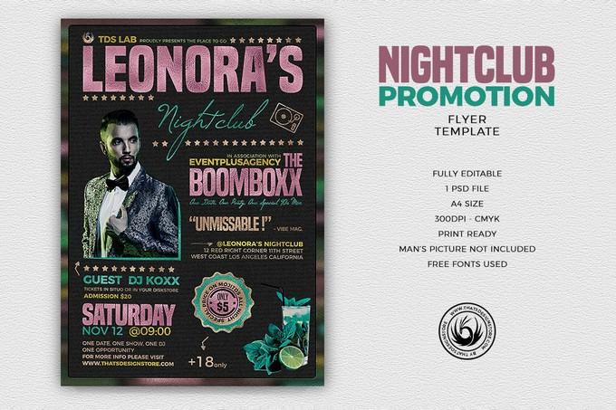 Nightclub Promotion Flyer