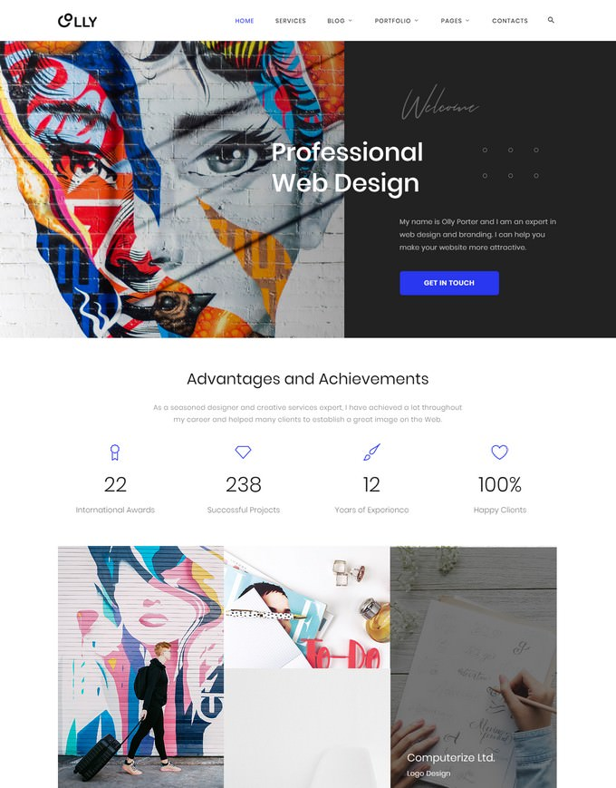 Advertising Agency Multipage HTML5 Website Template