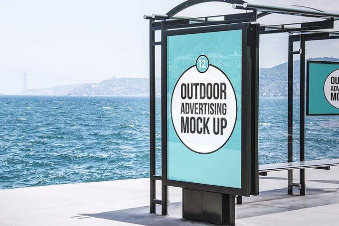 Outdoor Advertising PSD