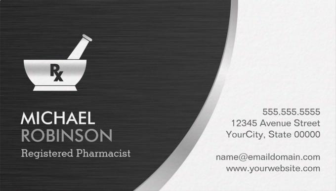 Pharmacy Pharmacist Logo Template