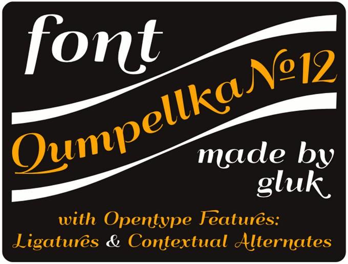 Qumpellka No12 Font