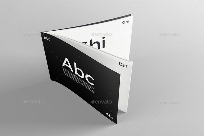 Catalogue Booklet Mockup