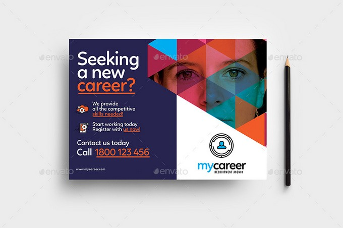 Recruitment Agency Flyer