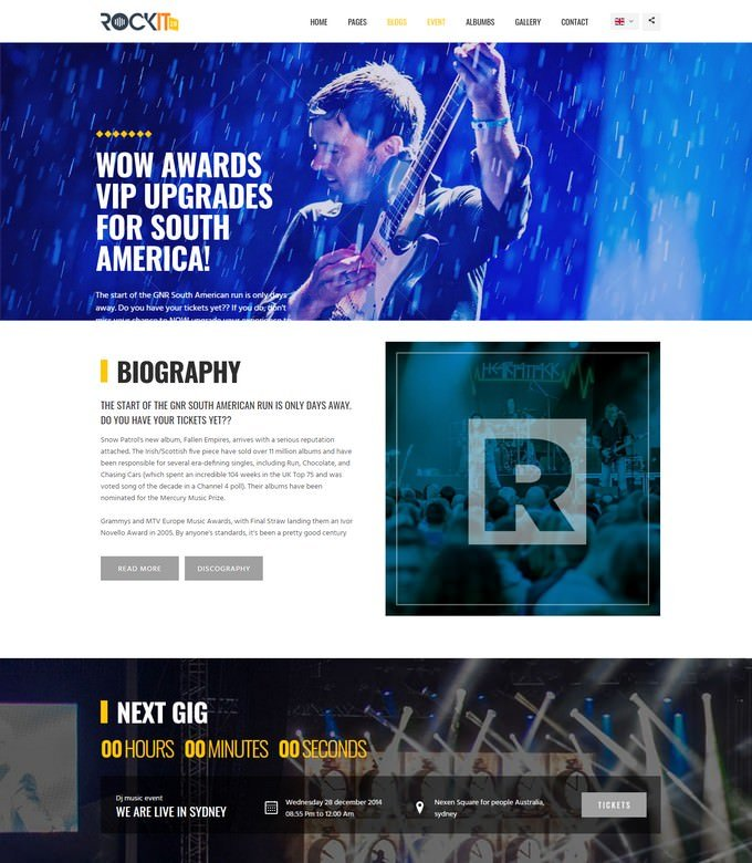 Rockit 2.0 Music Band Template