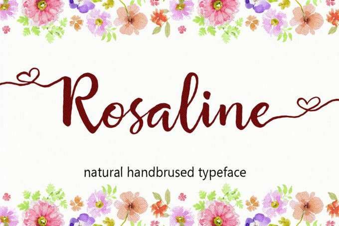 Rosaline Hand Brush