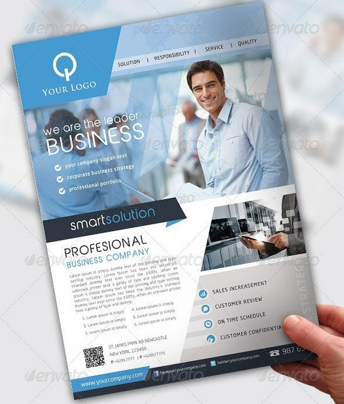 Smart Solution Business Flyer