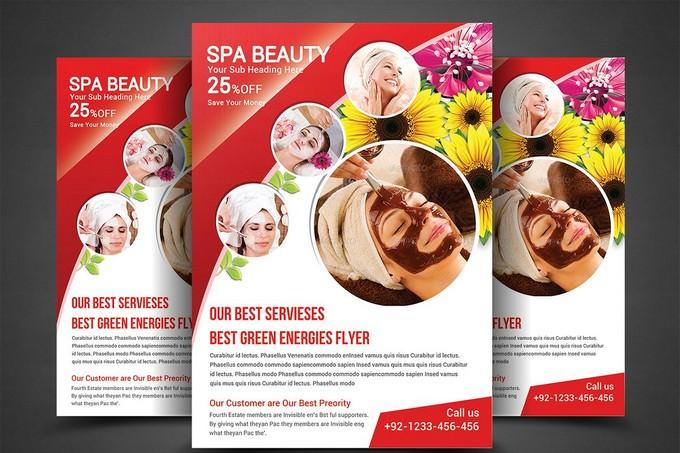 Spa Beauty-Print Templates PSD